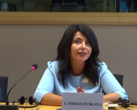 Нинішніми санкціями РНБО Зеленський тестує механізм усунення будь-яких опонентів на майбутніх виборах, – Соколовська