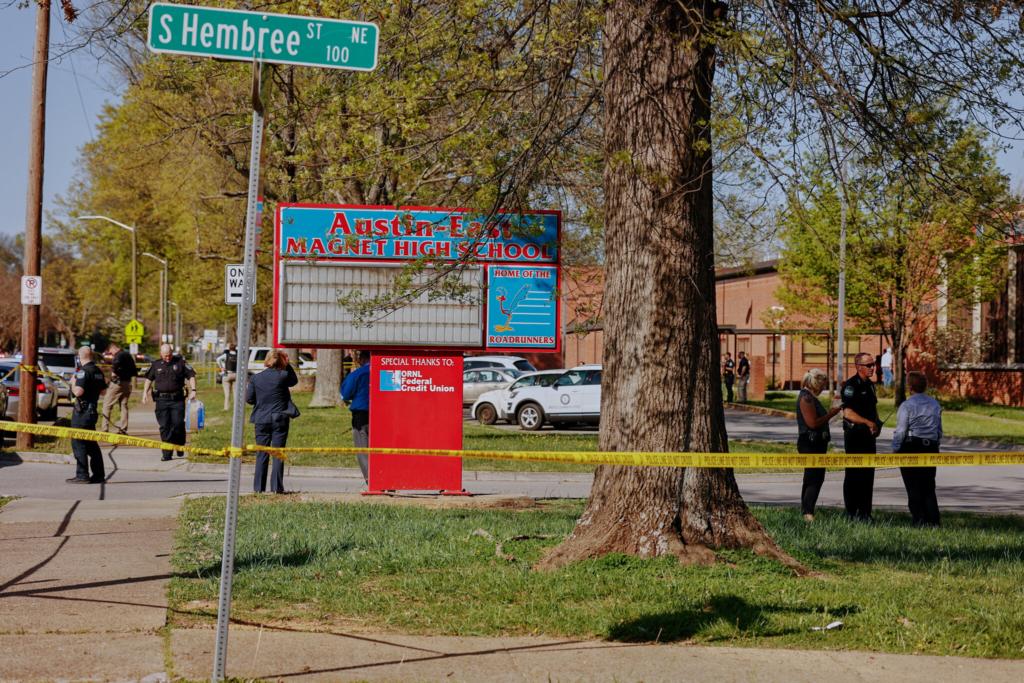 В США копы пристрелили ребенка, который открыл стрельбу в школе