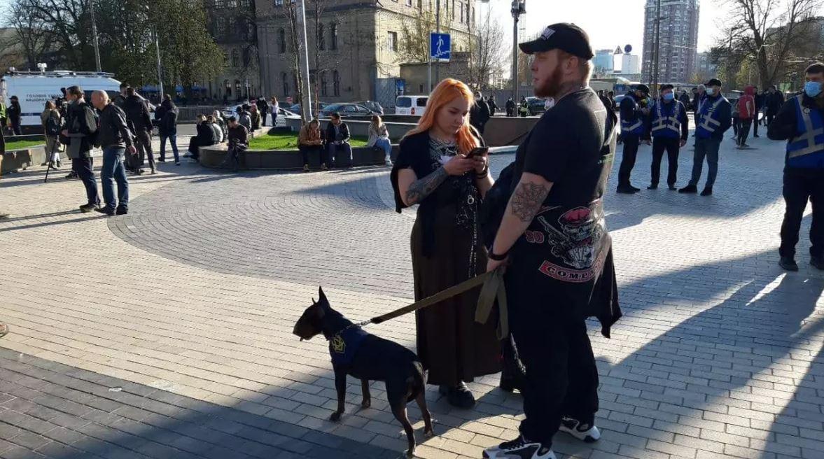 «Пройдем по руинам Кремля»: как в Киеве прошел марш в честь дивизии СС «Галичина»