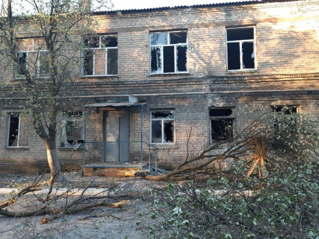 У Донецькій області під обстріл потрапила COVID-лікарня
