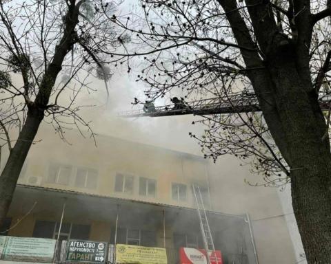 В Виннице загорелся офисный центр: есть погибший