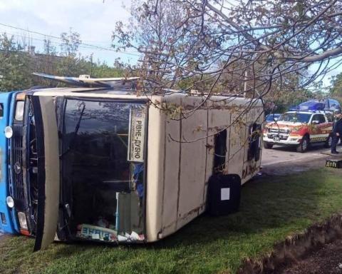 В Ровенской области перевернулся пассажирский автобус: есть пострадавшие