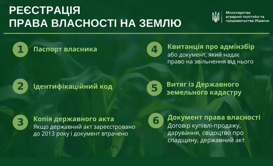 В Україні розпочинає роботу ринок землі: які документи потрібні для продажу ділянки