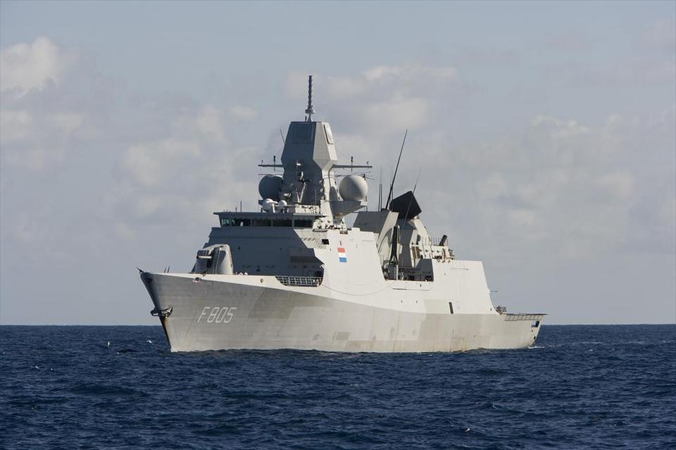 Нідерланди звинуватили РФ у фейкових атаках на свій фрегат біля Криму