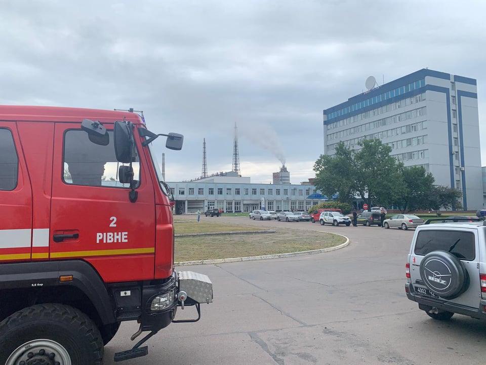 Взрыв на химзаводе под Ровно: появились данные об уровне загрязнения воздуха