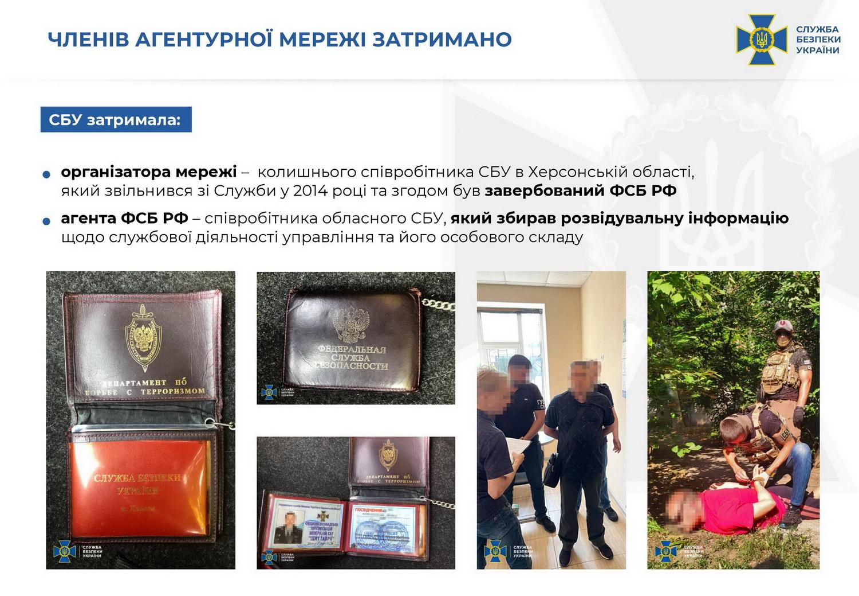 Колишній співробітник СБУ працював на Росію, видаючи секретну інформацію