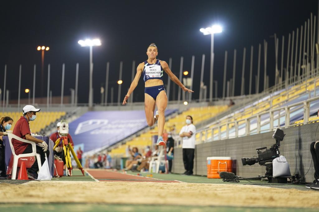 Красуня-легкоатлетка з України виграла елітний турнір напередодні Олімпіади