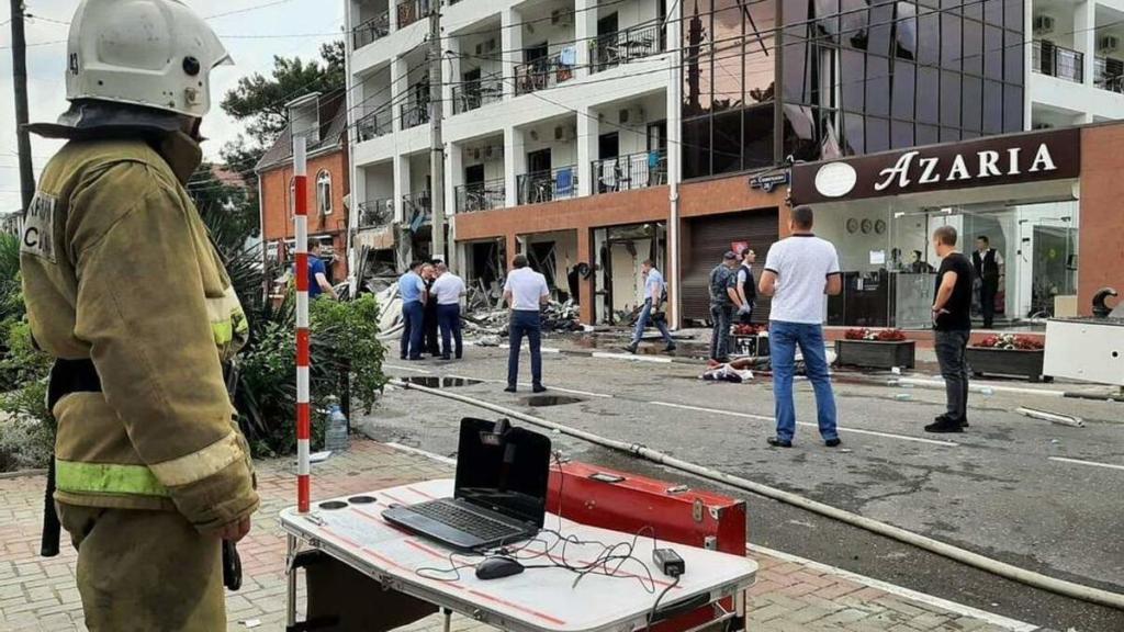 У Росії пролунав вибух у готелі, є загиблі