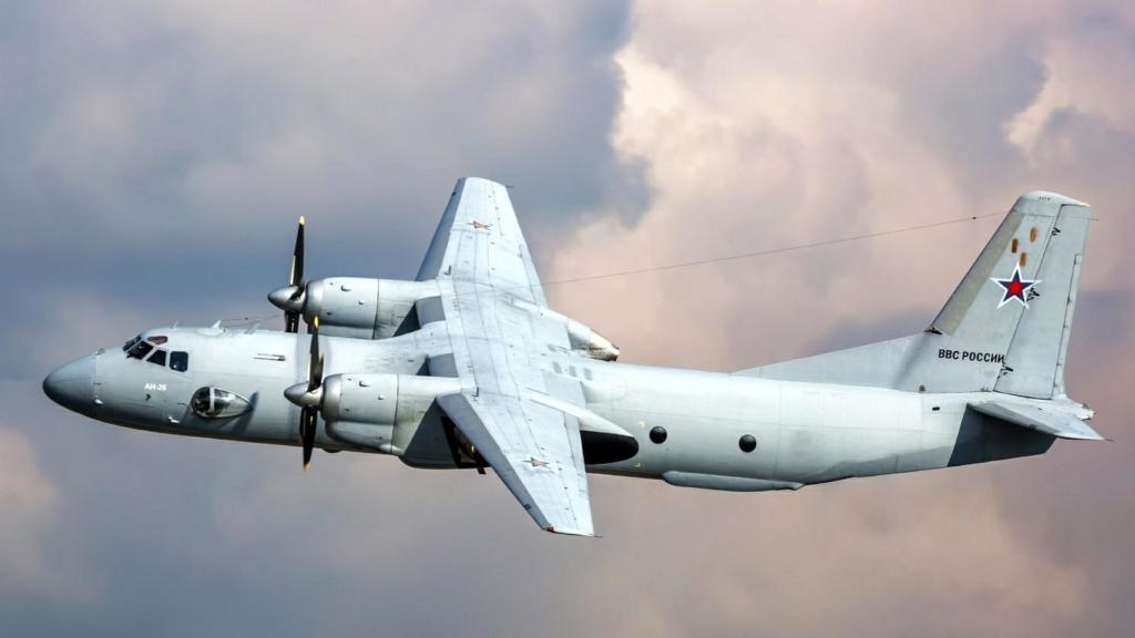 У Росії зазнав аварії Ан-26 з дітьми на борту