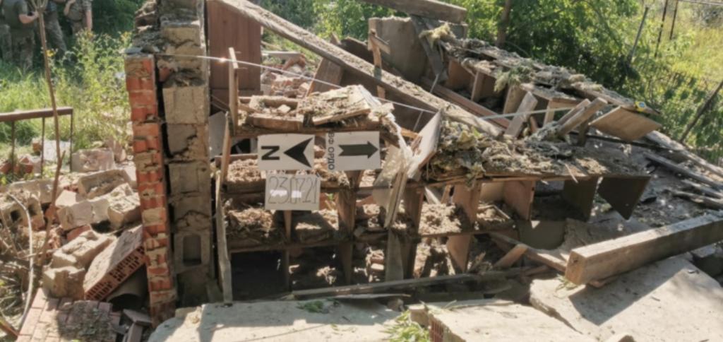 Боевики устроили минометный обстрел поселка Опытное: фото последствий