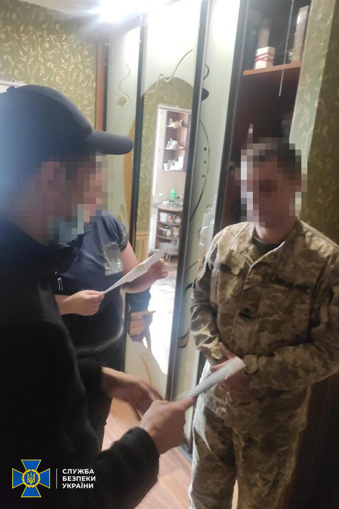 СБУ задержала бойца ВСУ, который собирал секретную информацию для России