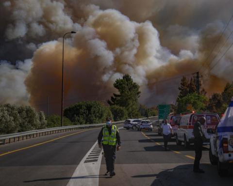 В Ізраїлі лісові пожежі дісталися Єрусалиму: відео