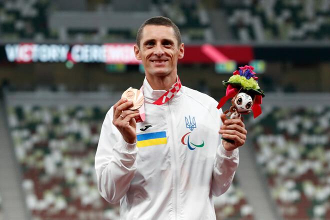 """Українець виборов """"бронзу"""" у стрибках в довжину на Паралімпіаді-2020"""