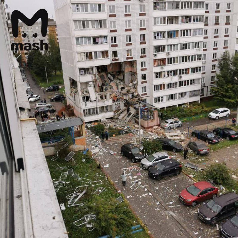 У Росії пролунав потужний вибух у житловому будинку: знищено 8 квартир, є загиблі