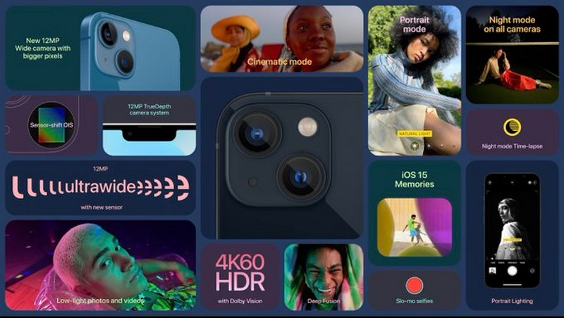 iPhone 13, iPad mini и Apple Watch 7: подробные характеристики и цены