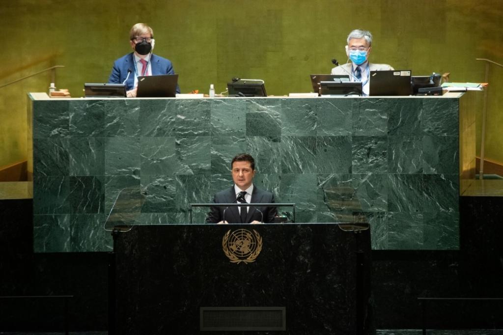 Росія, Донбас, розподіл вакцин: про що говорив Зеленський на Генасамблеї ООН