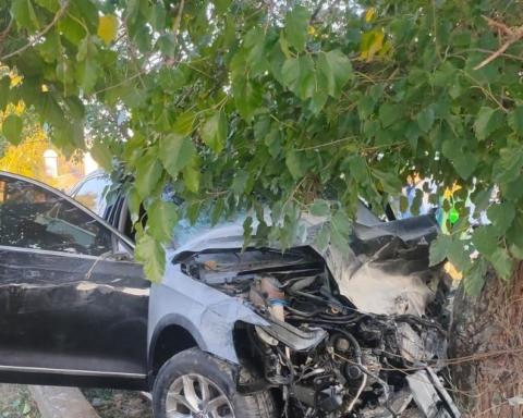 Под Одессой Lexus протаранил машину с военными, много пострадавших