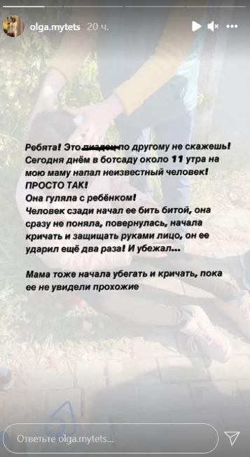 У київському парку чоловік із битою побив жінку з коляскою – це не перший випадок нападу