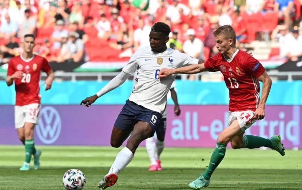 Угорщина зіграла з Францією внічию, виграючи по ходу матчу