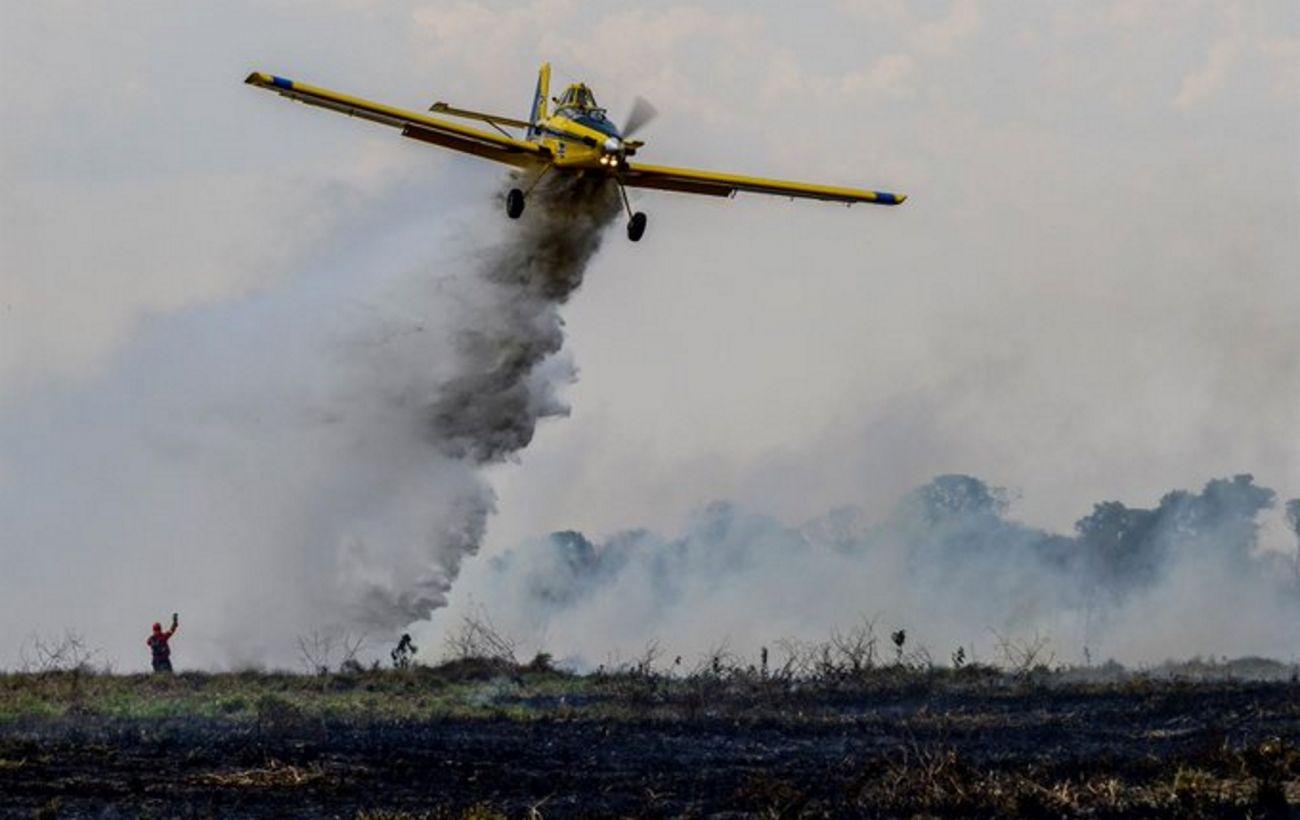 В Бразилии разбился легкомоторный самолет. Все, кто находился на борту погибли
