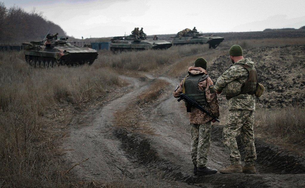 ЗСУ виявили важливий тайник терористів на Донбасі
