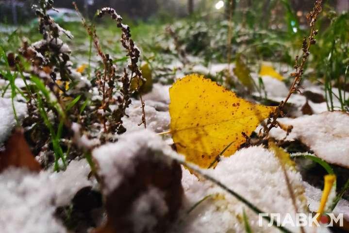 Похолодание и дожди с мокрым снегом прогноз погоды в Украине на субботу