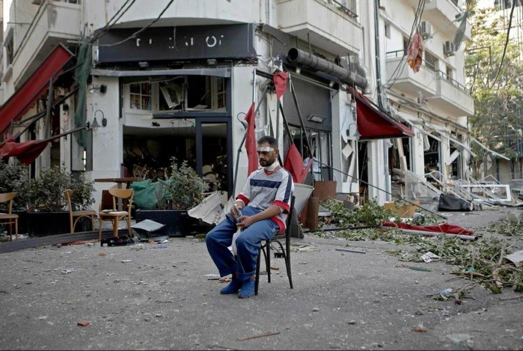 У Бейруті через місяць після вибуху собака «почула» серцебиття під руїнами
