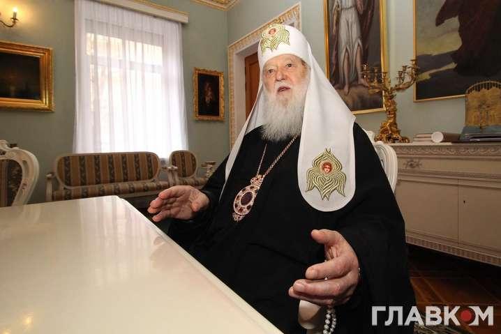 Патриарх Филарет отмечает 92-летие