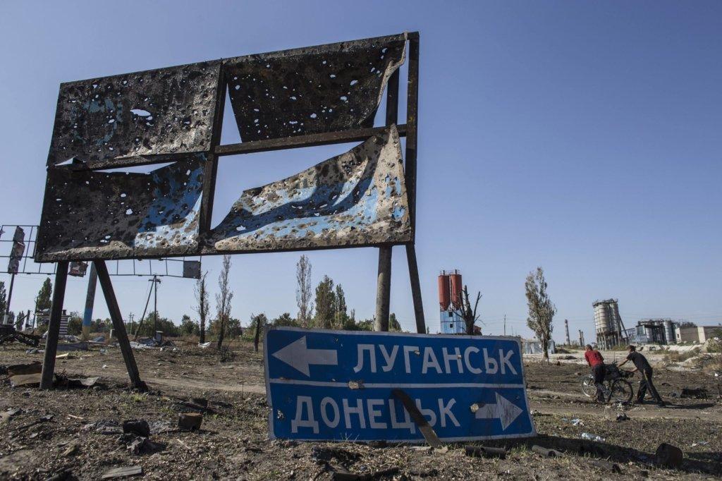 Двоє військовослужбовців підірвалися на Донбасі – відео