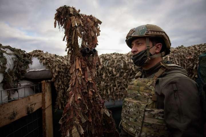 Зеленський: Ми на початку шляху до припинення війни на Донбасі