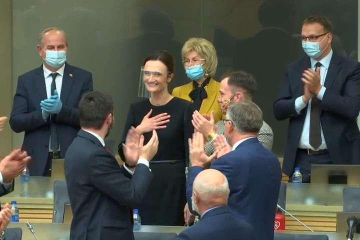 Чемпіонка Європи з шахів стала спікером литовського парламенту