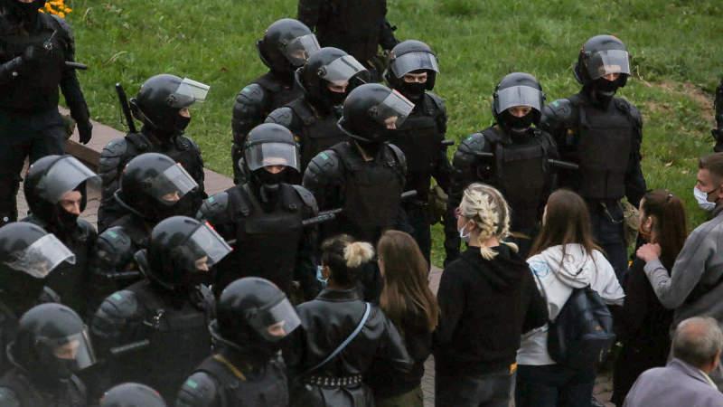 Протести в Мінську: стало відомо кількість затриманих