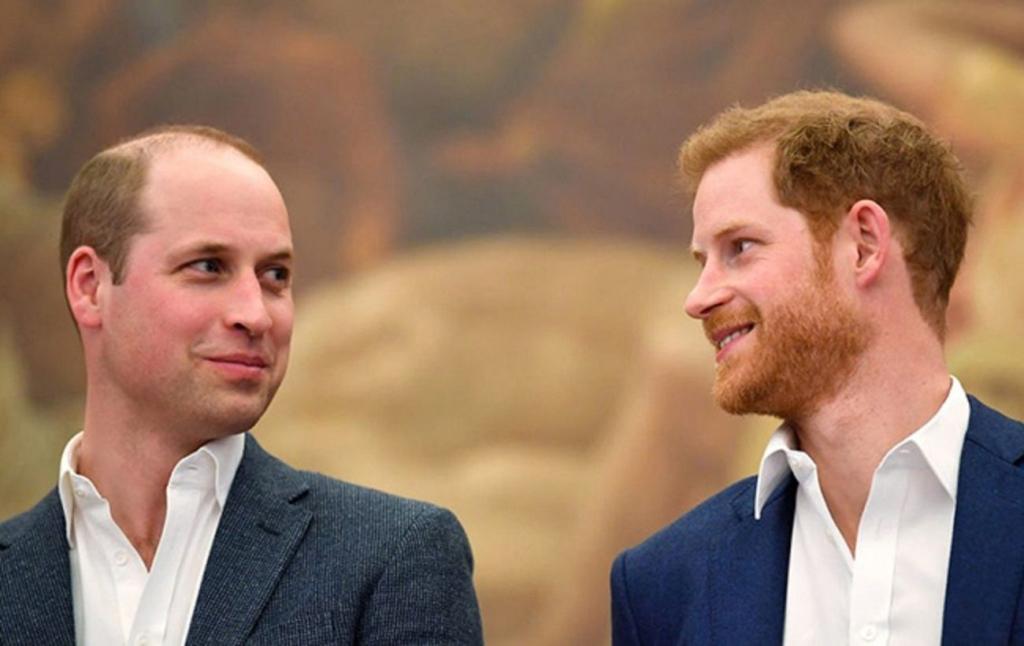Принцы Гарри и Уильям наконец откровенно пообщались после похорон: видео воссоединения