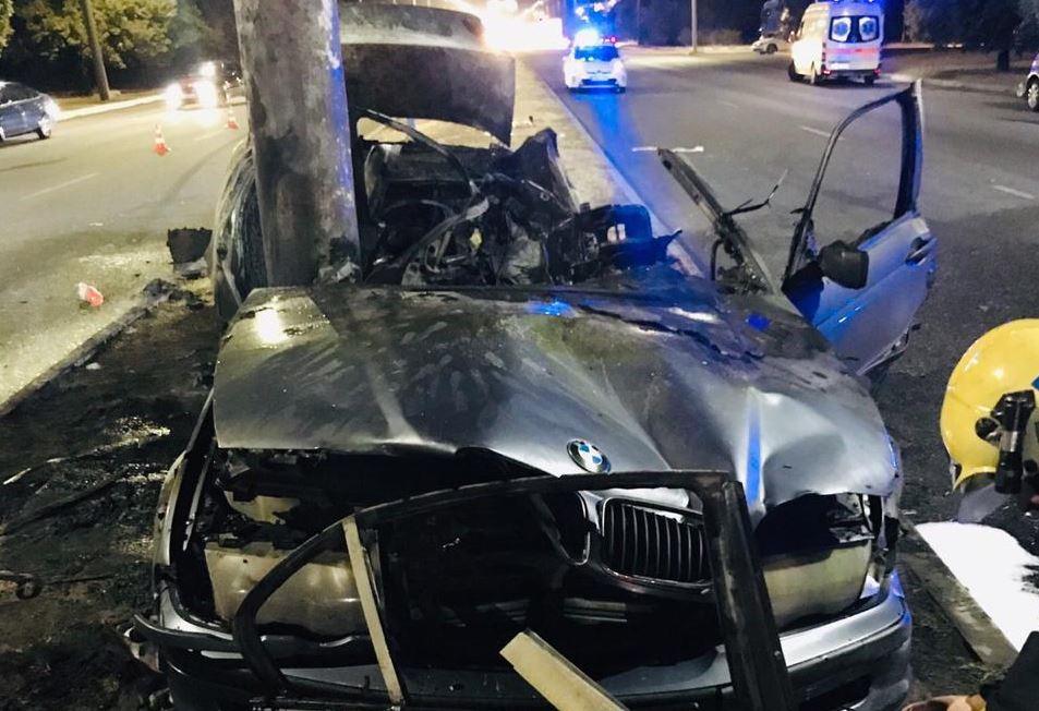 Троє згоріли заживо: смертельне ДТП в Запоріжжі потрапило на відео