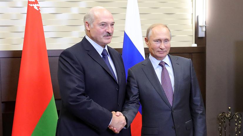 Лукашенко переговорив з Путіним: що відомо