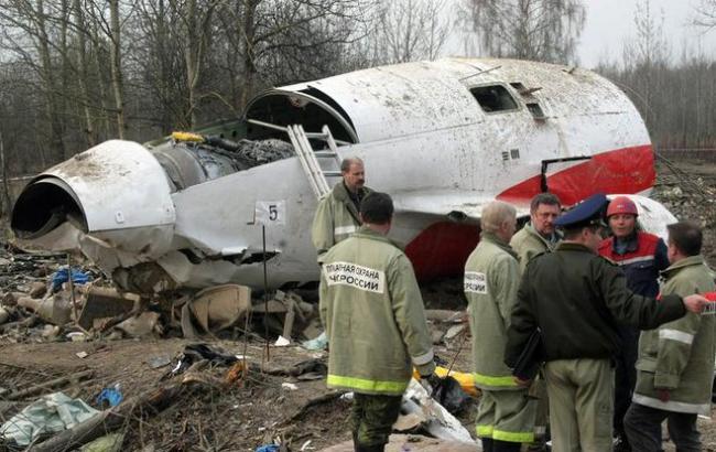 У Польщі підтвердили «російський слід» в авіакатастрофі літака Качиньського