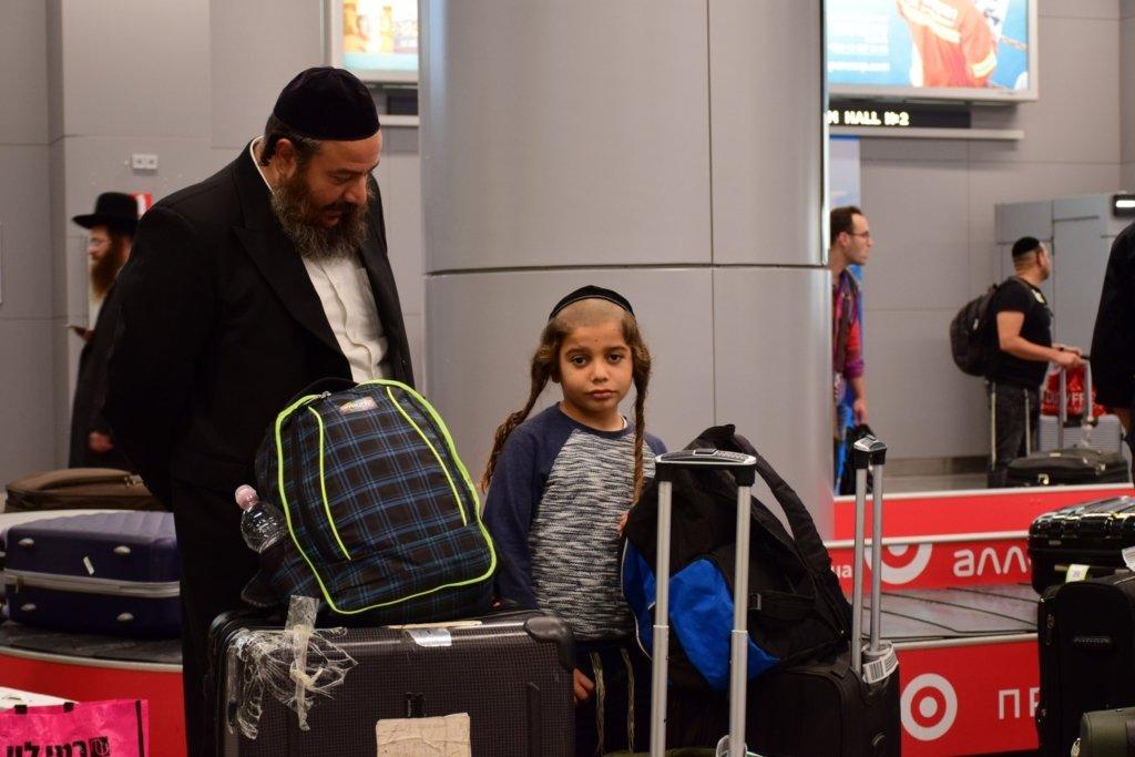 У київському аеропорту затримали більше сотні хасидів