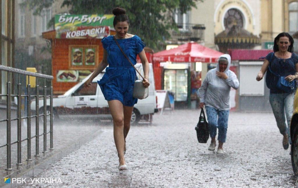 Тепло до +29 та дощі: прогноз погоди в Україні на неділю