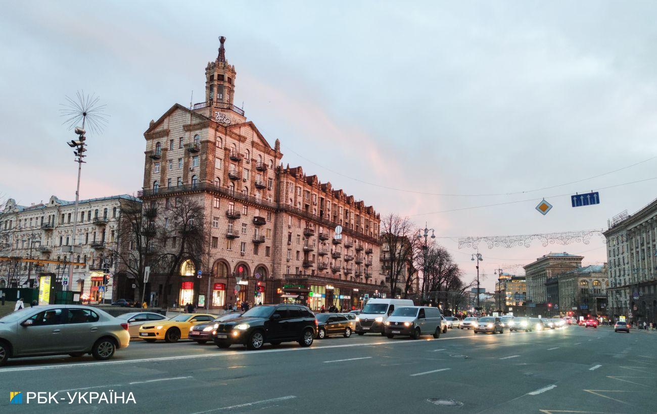 У Києві в суботу частково обмежать рух на Хрещатику