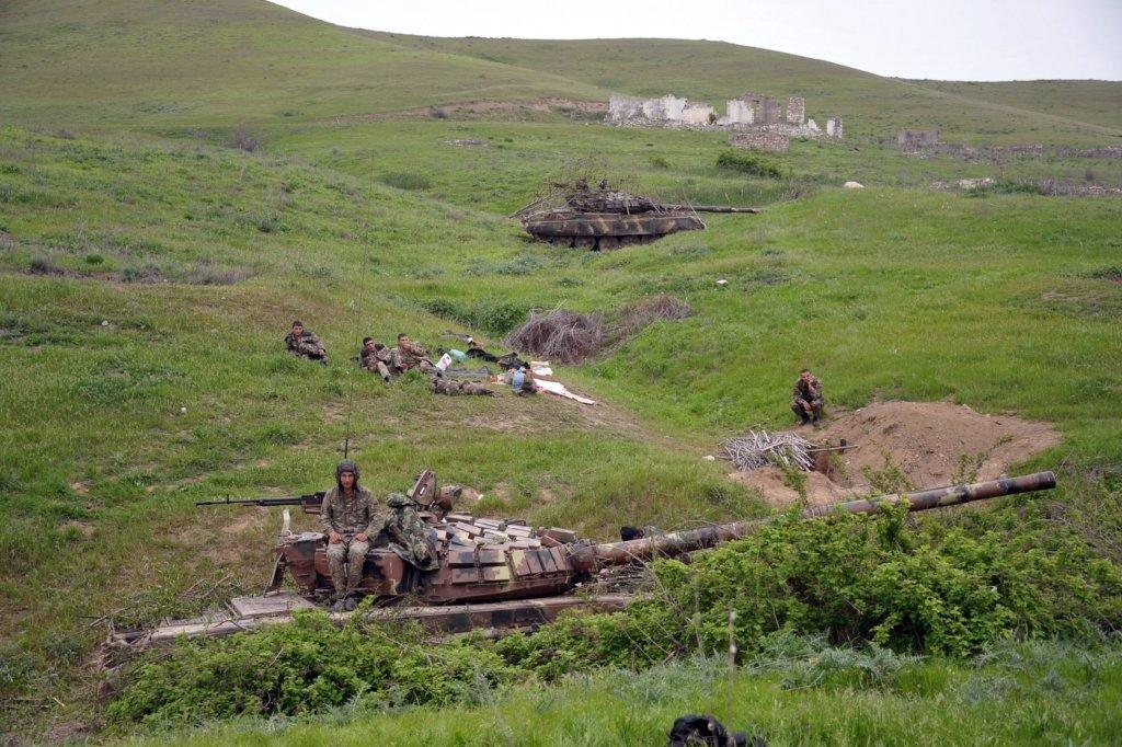 Війна за Нагірний Карабах: де йдуть запеклі бої – карта