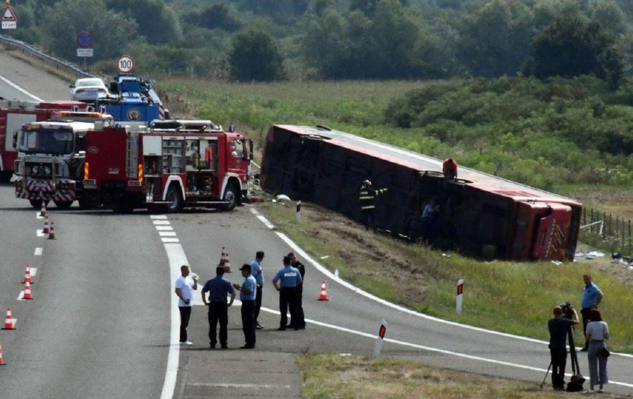 В Хорватии в результате ДТП с автобусом погибли 10 человек, еще 45 пострадали