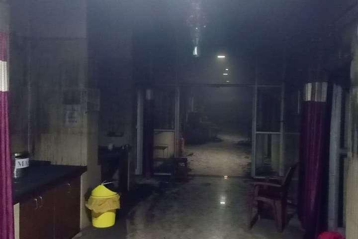 В Индии во время пожара в больнице погибли 10 младенцев