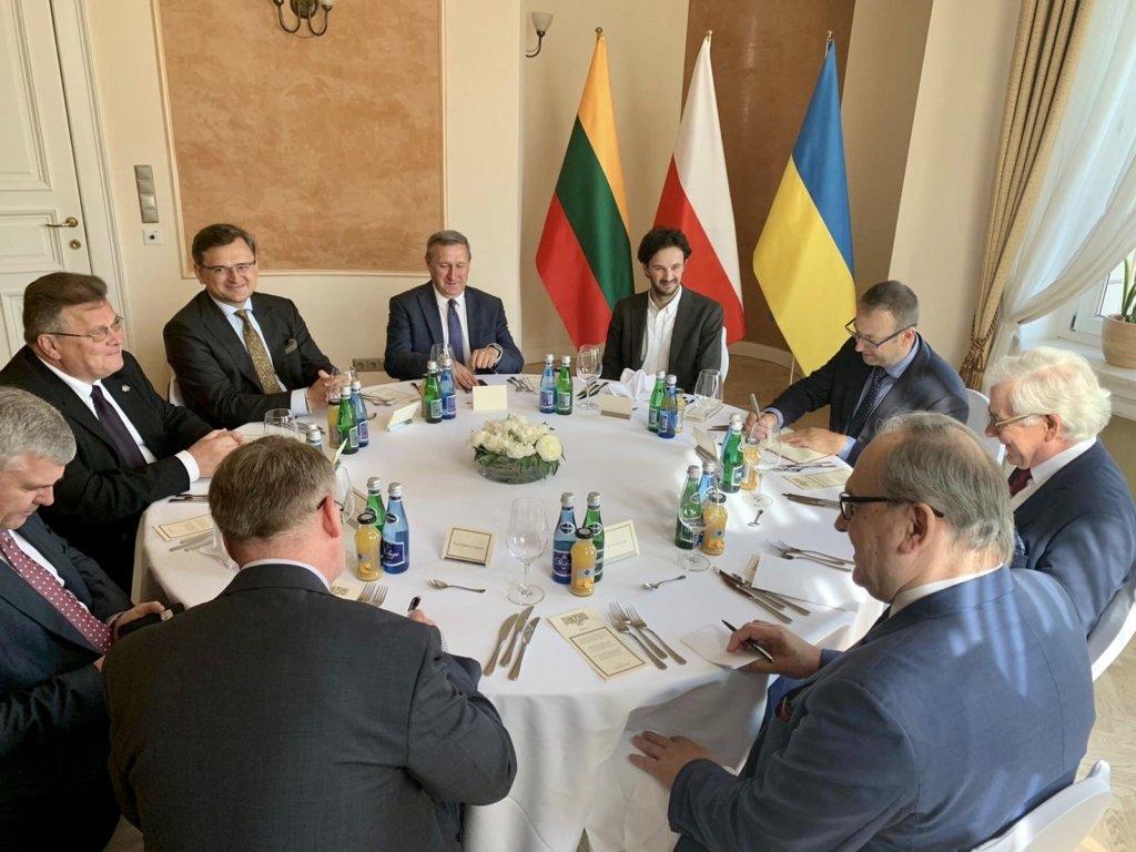 Люблінський трикутник: Росія звинуватила Польщу у «планах» на Чорне море