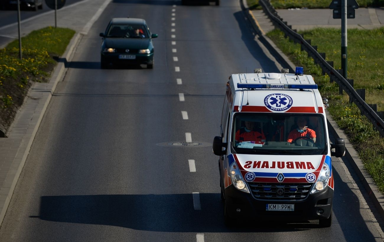В Польше перевернулся автомобиль с Украинской: есть погибший