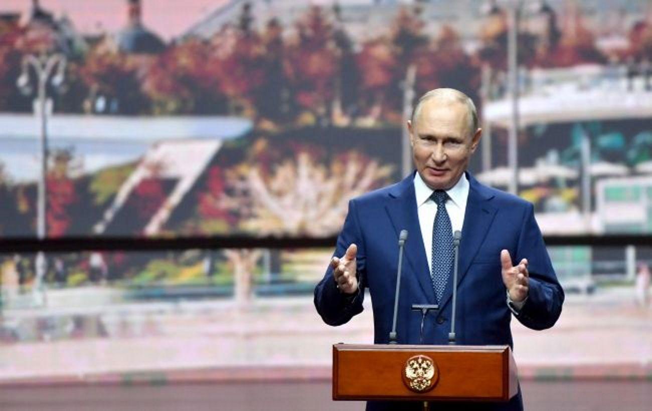 """Путін: """"Газпрому"""" вигідніше заплатити штраф Україні і збільшити прокачування за новими маршрутами"""