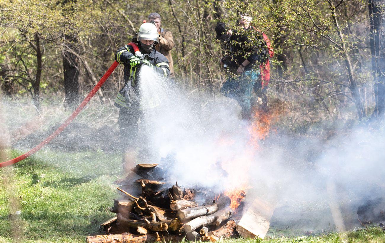 В Киеве и области объявили чрезвычайный уровень пожарной опасности