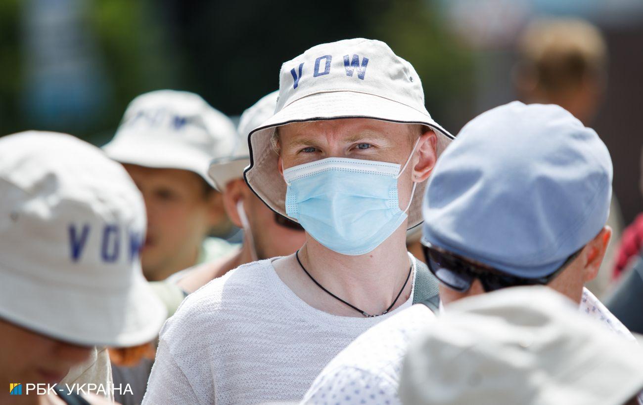 """Показатели двух областей Украины не отвечают """"зеленой"""" зоне"""