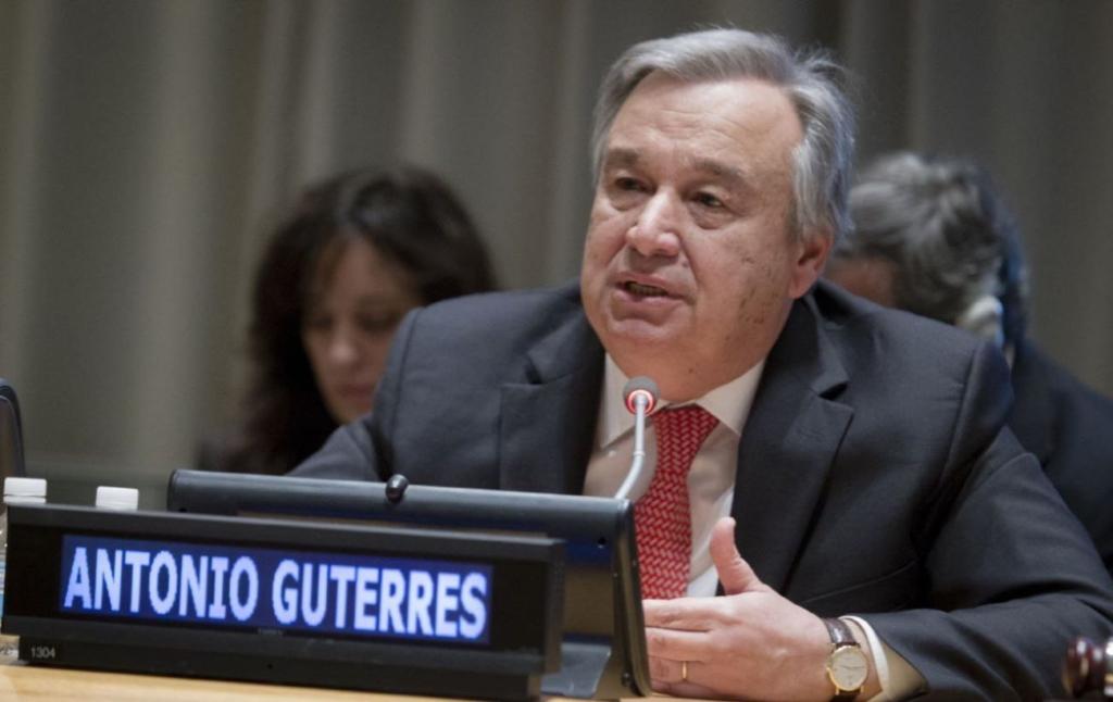Гуттериш назвал единственный путь урегулирования палестино-израильского конфликта