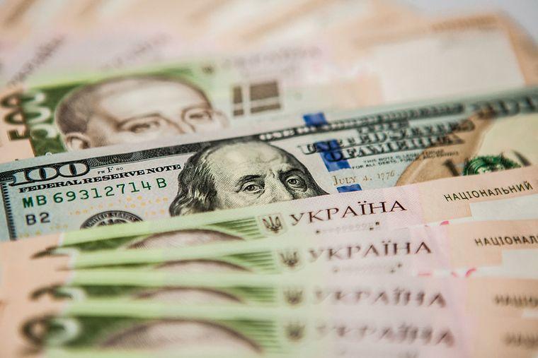 Офіційний курс валют: 27,69 грн за долар