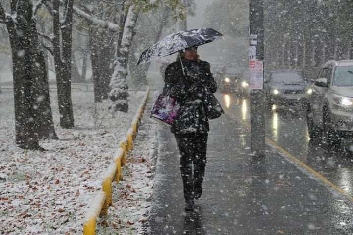 Морози та мокрий сніг: прогноз погоди на 22 листопада